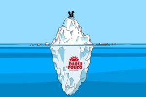 Daqui a Pouco iceberg