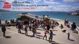 Annonce du festival de forro à Marseille, édition 2021